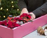 Paso 2 - Crear un centro de mesa con una caja reciclada para Navidad