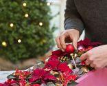 Paso 4 - Crear un centro de mesa con una caja reciclada para Navidad