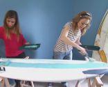 Hacer un cabecero con tablas de surf