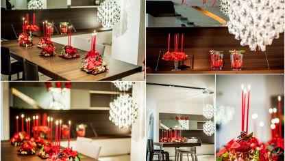 Crear un centro de mesa con una caja reciclada para for Decoracion navidena centro de estetica