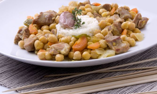 12 recetas con garbanzos karlos argui ano - Preparacion de garbanzos cocidos ...