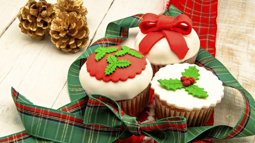 Ideas para decorar cupcakes de Navidad - Hogarmania