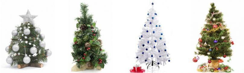 arbol de navidad blancos