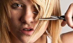 peinados para disumular frente ancha - corte