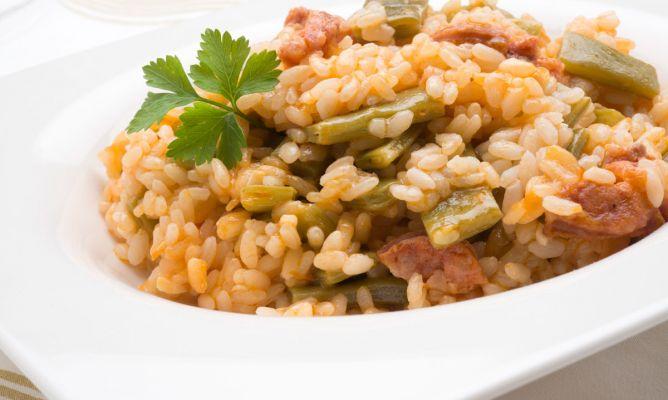Receta de arroz con chorizo y jud as verdes karlos argui ano - Judias con chorizo y patatas ...