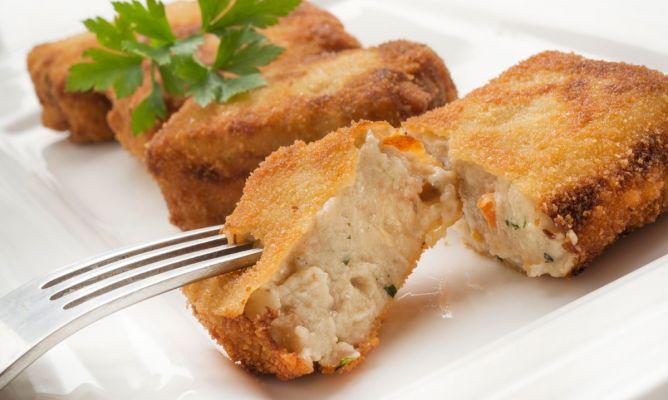 Receta de Bocados de queso roquefort y nueces