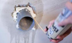 Aplicación de espuma de poliuretano