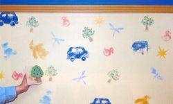 Pintar con tampones de esponja