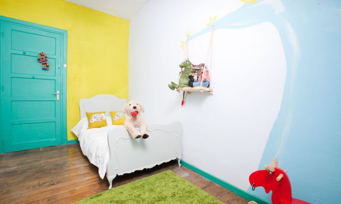 Habitaci n infantil para ni as decogarden - Programa decorar habitacion ...