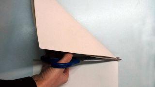 Copos de nieve de papel - Paso 2