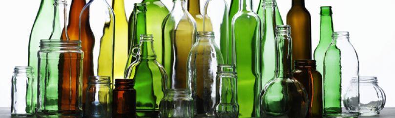 Reciclar botellas y tarros de vidrio o cristal for Ideas para reciclar botellas de vidrio