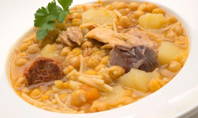 Recetas De Cocina Canarias | Receta De Rancho Canario Karlos Arguinano
