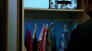 Barra de armario con leds