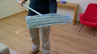 Paso 4 - Limpieza del suelo laminado