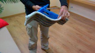 Paso 8 - Limpieza del suelo laminado
