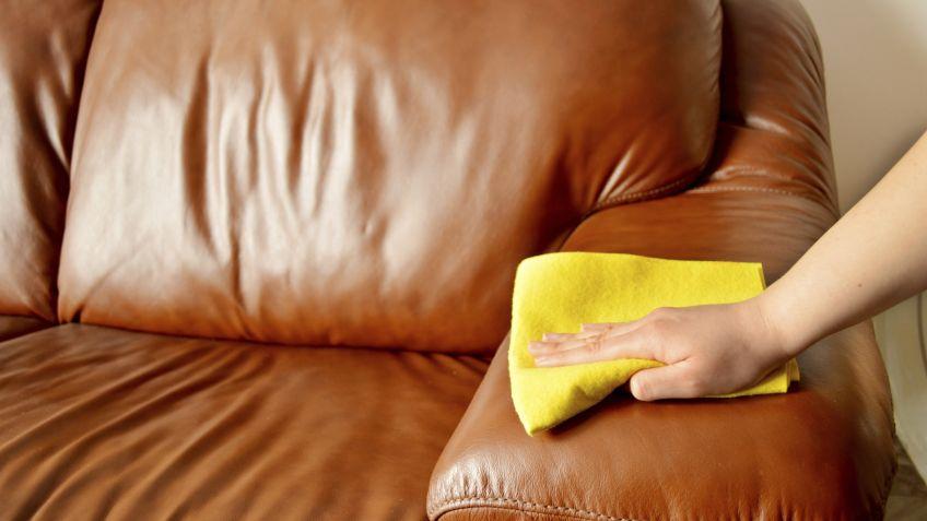 cómo cuidar y limpiar los muebles de cuero - hogarmania