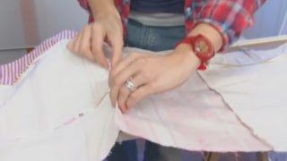 Cómo hacer cuadros de patchwork - Paso 1