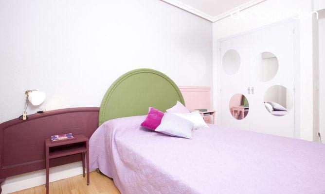 Dormitorio original para una chica joven decogarden for Dormitorio original