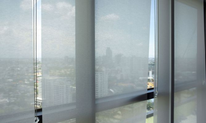 Estores persianas y paneles para la decoraci n de - Todo cortinas y estores ...