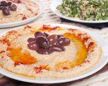 Tabouleh y hummus
