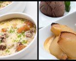Sopa y Peras