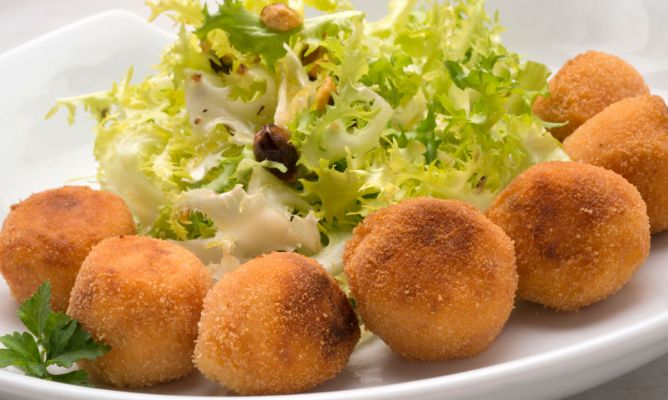 Receta De Bolas De Patata Y Sobrasada Karlos Arguiñano