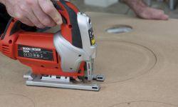 Cómo hacer un círculo en un tablero de madera