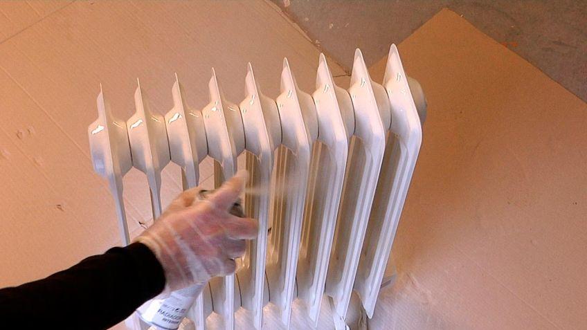 cmo pintar un radiador bricomana - Bricomania Pintura