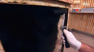 Cómoda con pintura pizarra
