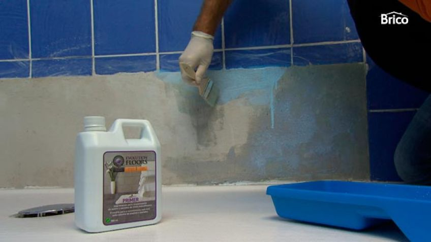 Revestimiento vin lico para suelos y paredes bricoman a for Suelos laminados o vinilicos