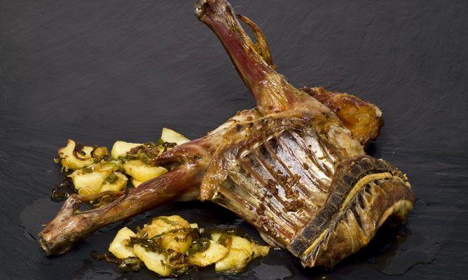 Como Cocinar Cabrito Al Horno | Receta De Cabrito Asado Con Patatas Panadera Karlos Arguinano