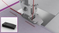 coser dobladillo con máquina de coser - coser