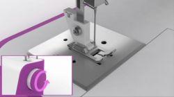 coser dobladillos con máquina de coser - pie de dobladillo 2