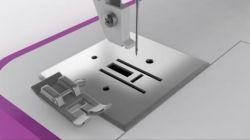 coser dobladillos con máquina de coser - pie de dobladillo 3
