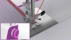 coser servilletas con máquina de coser - paso 7