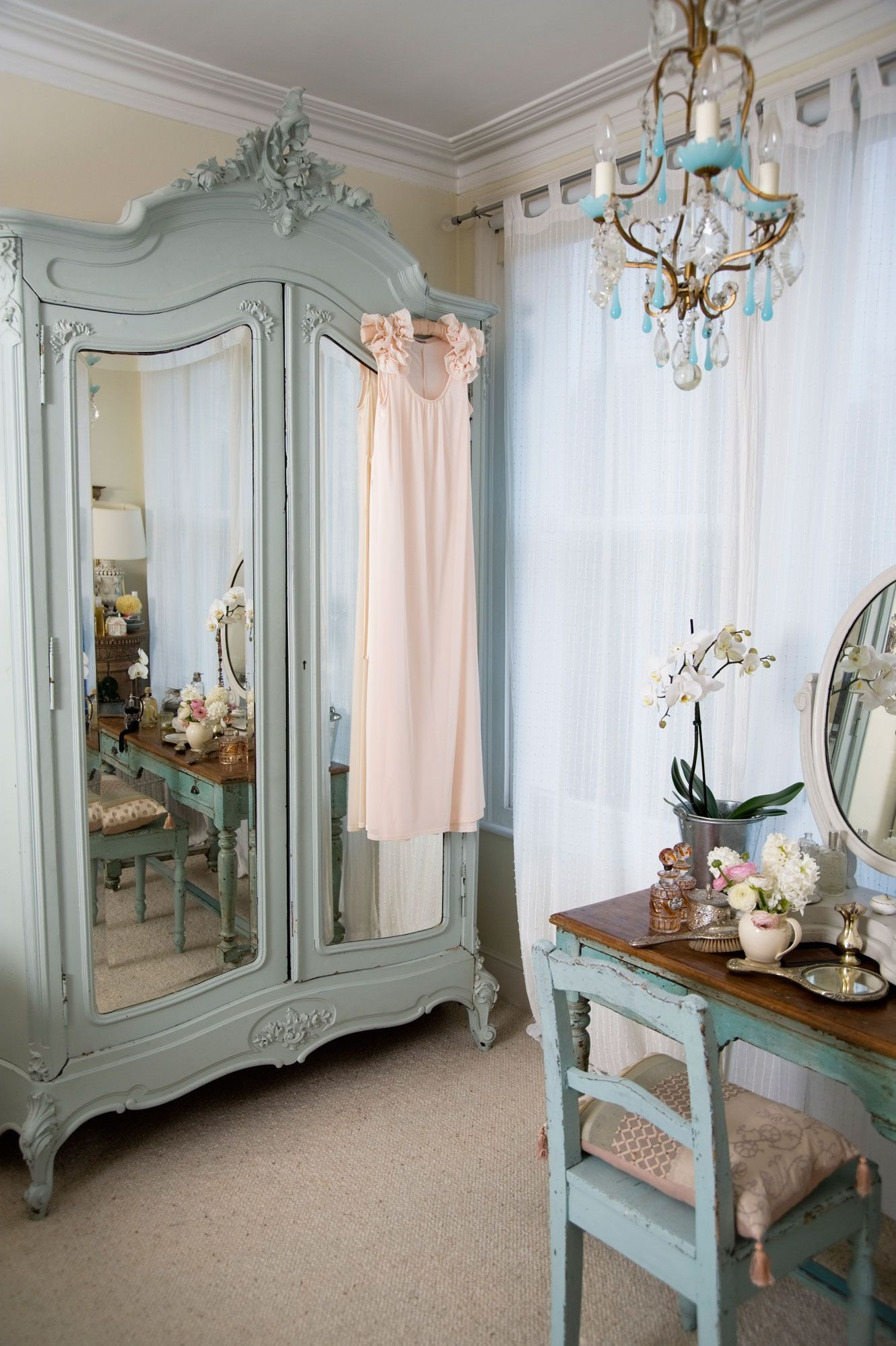 Estilo shabby chic en decoraci n hogarmania - Decoracion estilo romantico ...