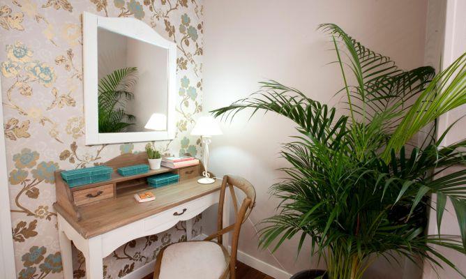 Areca para decorar un dormitorio romántico - Decogarden