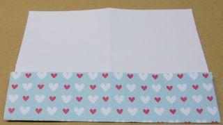 Marcapaginas con forma de corazón - Paso 5
