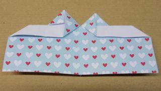 Marcapáginas con forma de corazón - Paso 11