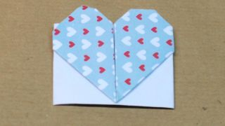 Marcapáginas con forma de corazón - Paso 13