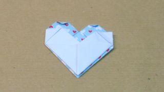 Marcapáginas con forma de corazón - Paso 14