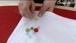 decorar camiseta y zapatillas básicas infantiles - paso 2
