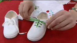 decorar camiseta y zapatillas básicas infantiles - paso 5