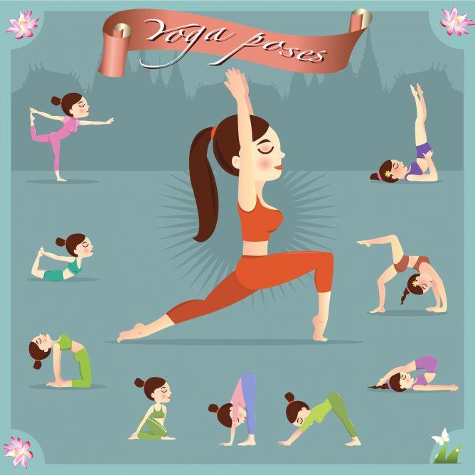 Posturasa básicas de yoga