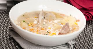 Boston Clam Chowder (Estados Unidos)