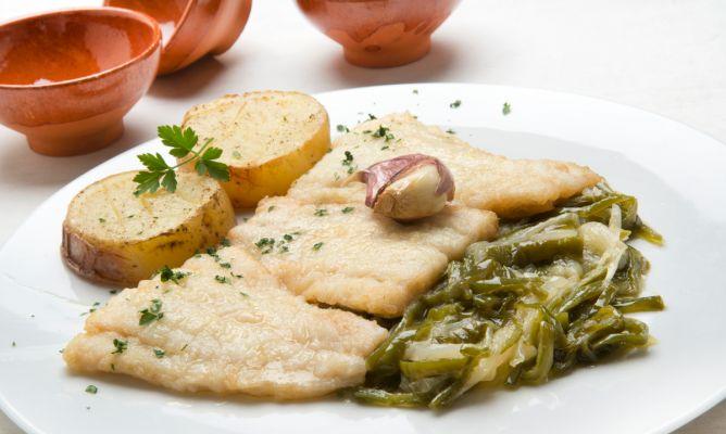 Receta de colitas de bacalao con patatas y fritada for Cocina bacalao con patatas