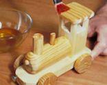 Cómo hacer un tren de madera