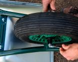 Cambiar rueda de carretilla