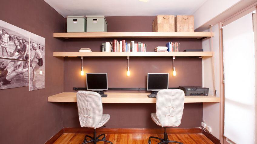 Decorar una zona de estudio decogarden - Como decorar un estudio pequeno ...
