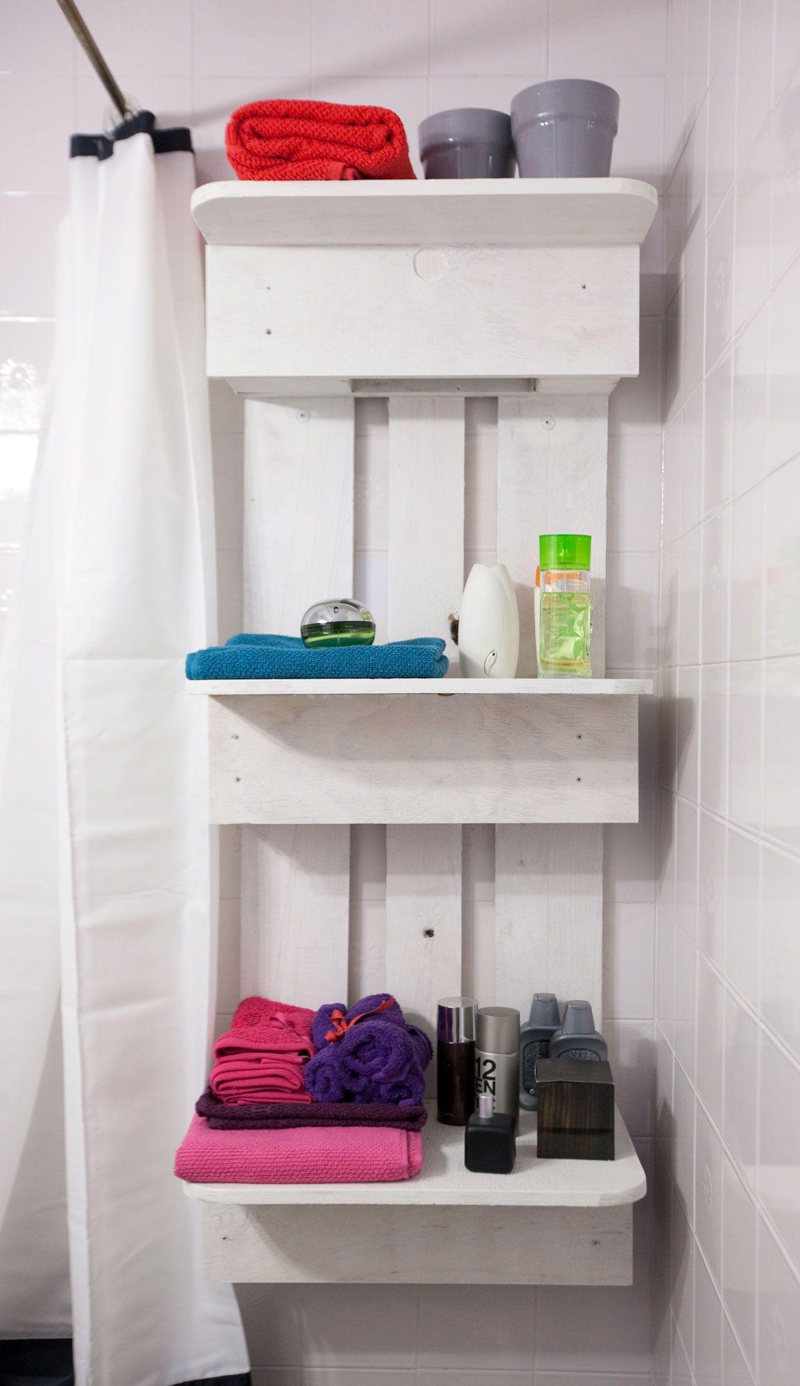 estantería palés baño actualizado